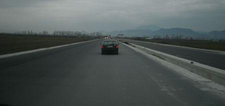 strade in Albania