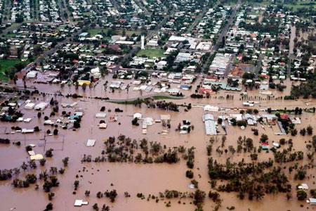 Chinchilla Queensland alluvione