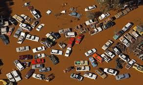 Victoria Australia Alluvione