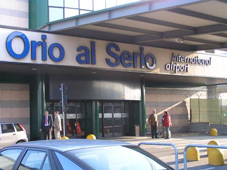 foto aeroporto Orio al Serio Bergamo