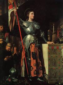 dipinto Giovanna d'Arco