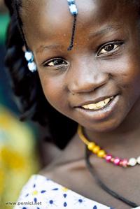 Burkina Faso bambina