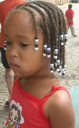 Bambina di Capo Verde