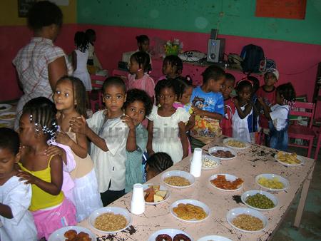 Bambini di Capo Verde