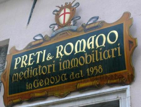 Genova - insegna storica