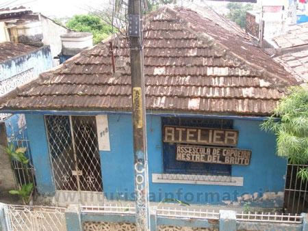 La prima scuola di Capoeira (Olinda)