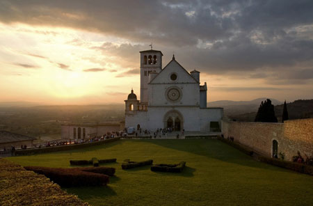 assisi panorama san francesco