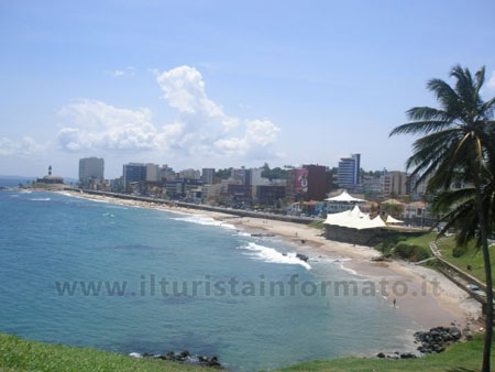 spiaggia di Salvador de Bahia