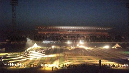 Fespaco - festa di inaugurazione allo stadio