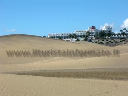 Alberghi sulle Dune di Maspalomas