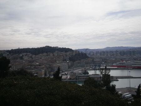Panorama dal duomo di Ancona