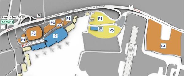 Parcheggi Aeroporto Pisa