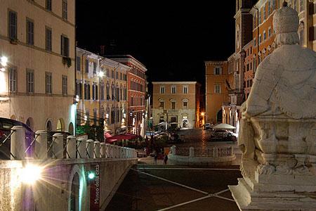 Piazza del Papa o del Plebiscito Ancona