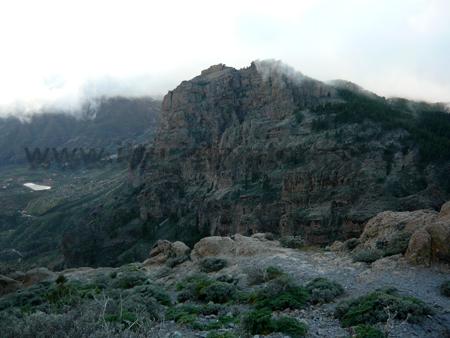 Vista da Pozo de las Nieves