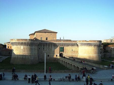 la Rocca Roveresca a Senigallia