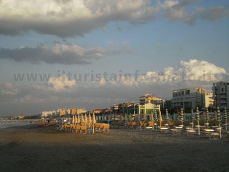 la spiaggia di velluto di Senigallia
