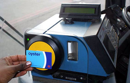 Oyster card Londra