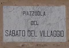 Piazzale sabato del villaggio
