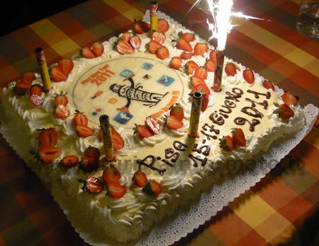 La torta del Pisa Blog Tour