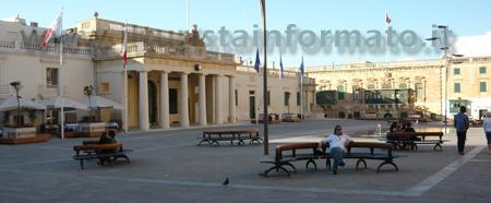 Piazza a Valletta Malta