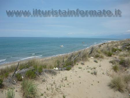 Spiaggia a San Rossore