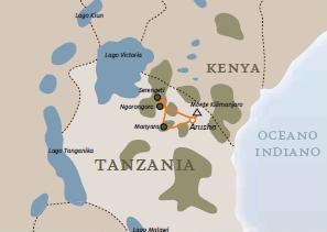 Tanzania - Nord speciale migrazioni