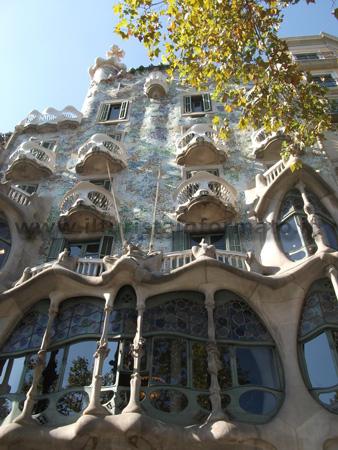 Casa Batllo - facciata esterna