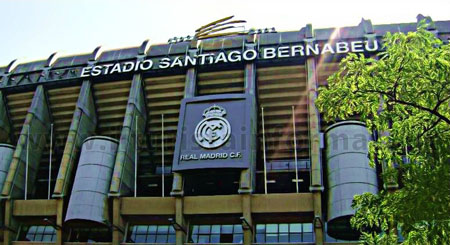 Madrid Stadio Bernabeu