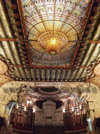 Palau de la musica catalana - Sala dei concerti