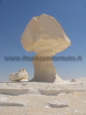 Rocce calcaree - Deserto bianco