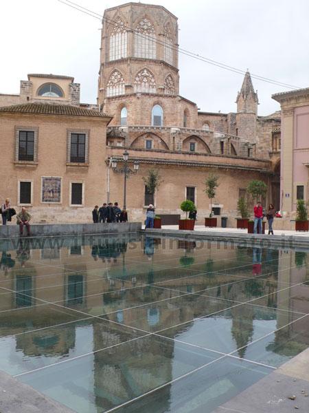 Valencia - Resti dietro la Cattedrale