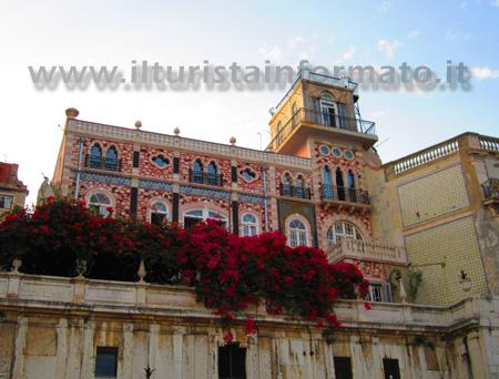 Palazzo nel quartiere Alfama