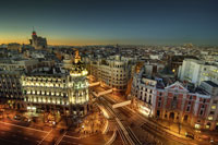 Madrid panorama