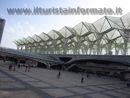 Stazione Oriente a Lisbona