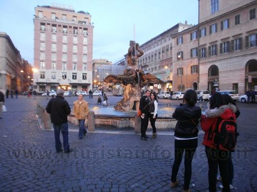 Fontana del Tritone a Roma