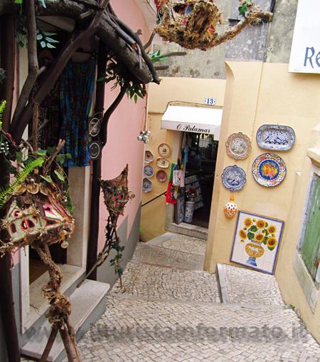 Negozi a Sintra