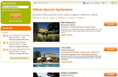 Offerte Speciali Agriturismo.it