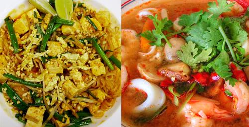 Phat Thai e Tom Yam Kung