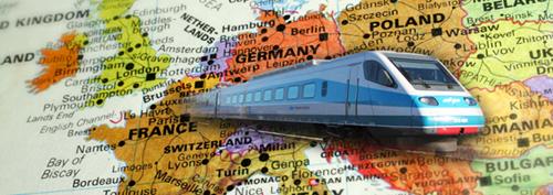 InterRail in Europa