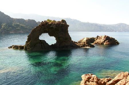 Arche de Porto - Corsica