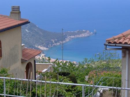 Panorama caletta Isola del Giglio