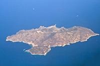 Isola del Giglio dall'alto