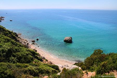 Panorama spiaggia Isola del Giglio