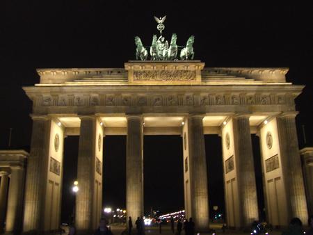 Brandenburger Tor dall'est