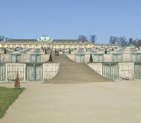 Palazzo Sanssouci a Potsdam