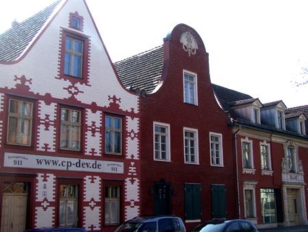 Case del quartiere olandese a Potsadam