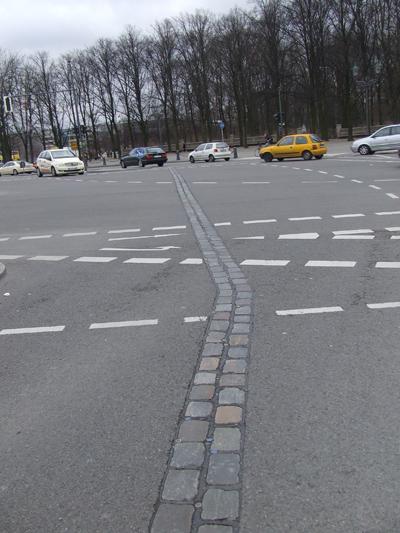 I resti del muro di Berlino