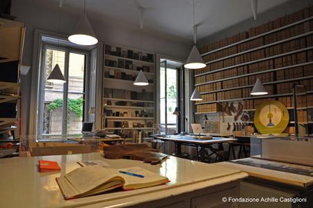 Fondazione Achille Castiglioni - Stanza tecnigrafi