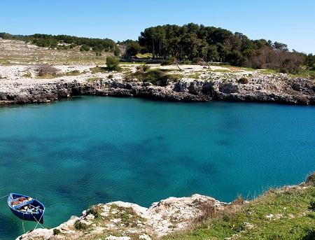 Otranto - Baia di Porto Badisco (Autore: Nunzio Pacella)