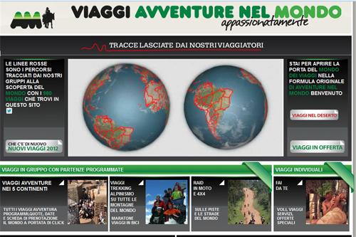 Avventure nel mondo - Home page